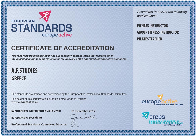 europeactive-Certificate_2017